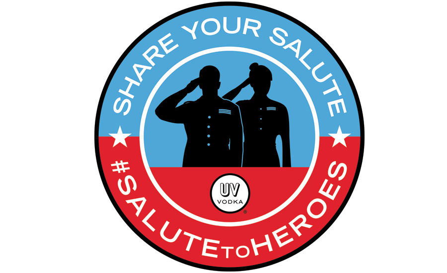 UV Salute badge