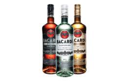 Bacardi bottles