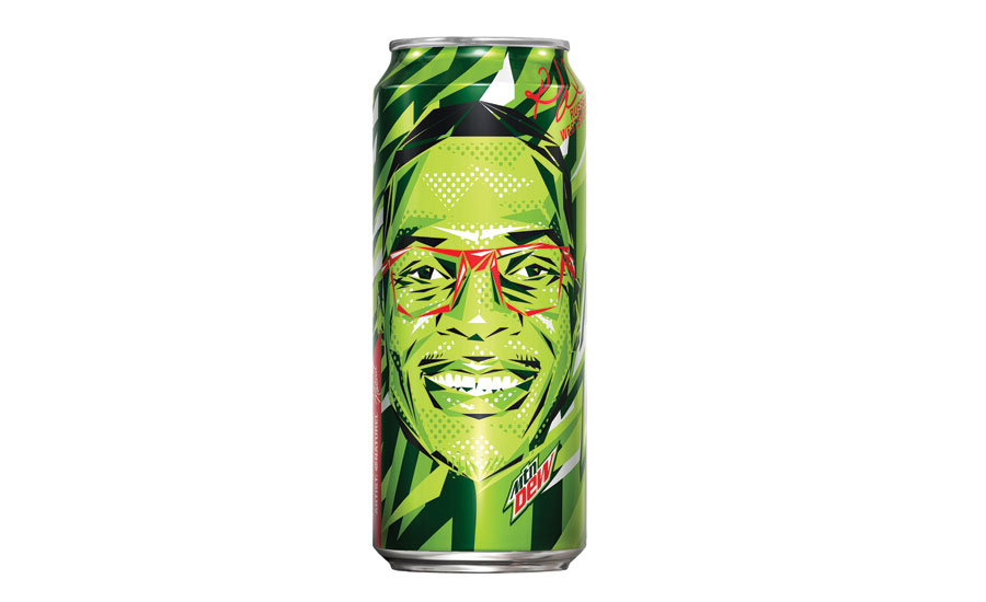 MTN Dew Westbrook cans