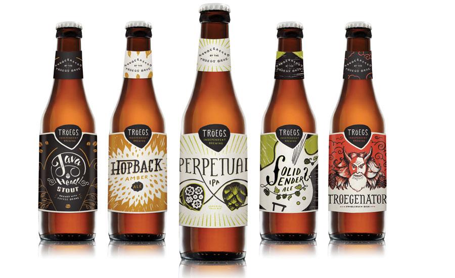 Craft beer brand uses hand drawn artwork on redesigned for Best craft beer brands