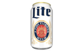 Miller Lite original can