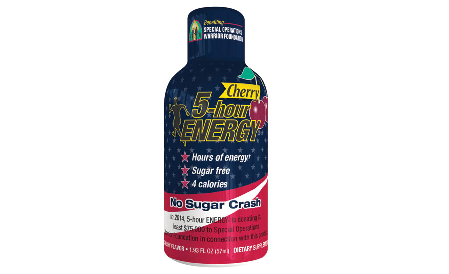 5-Hour Energy patriotic cherry bottle