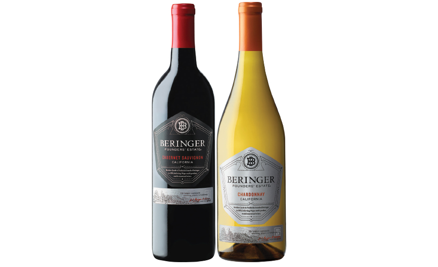 Beringer Founders Estate wine