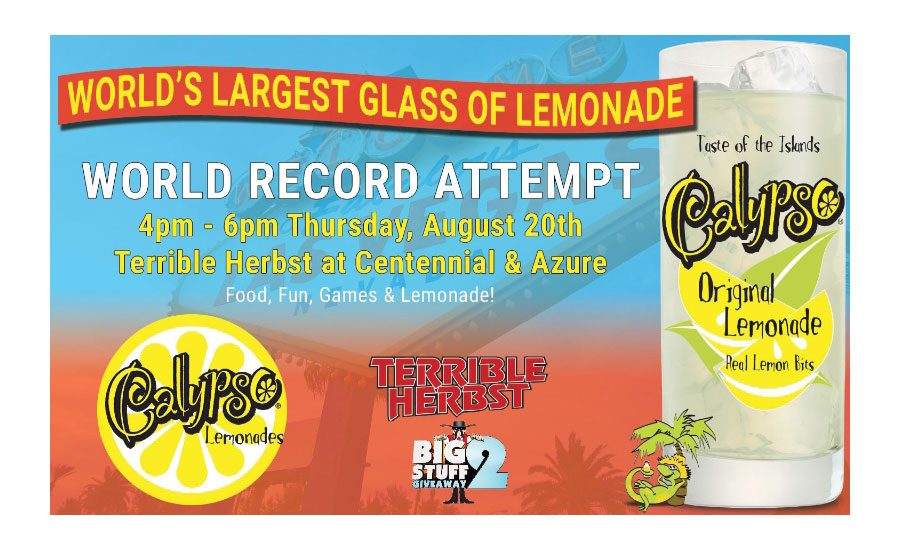 Calypso world record