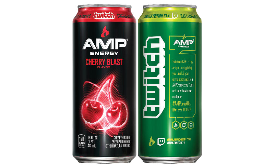 Amp Energy releases limited-edition packaging | 2016-07-15