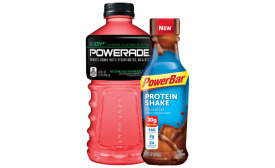 Powerade sports protein drink