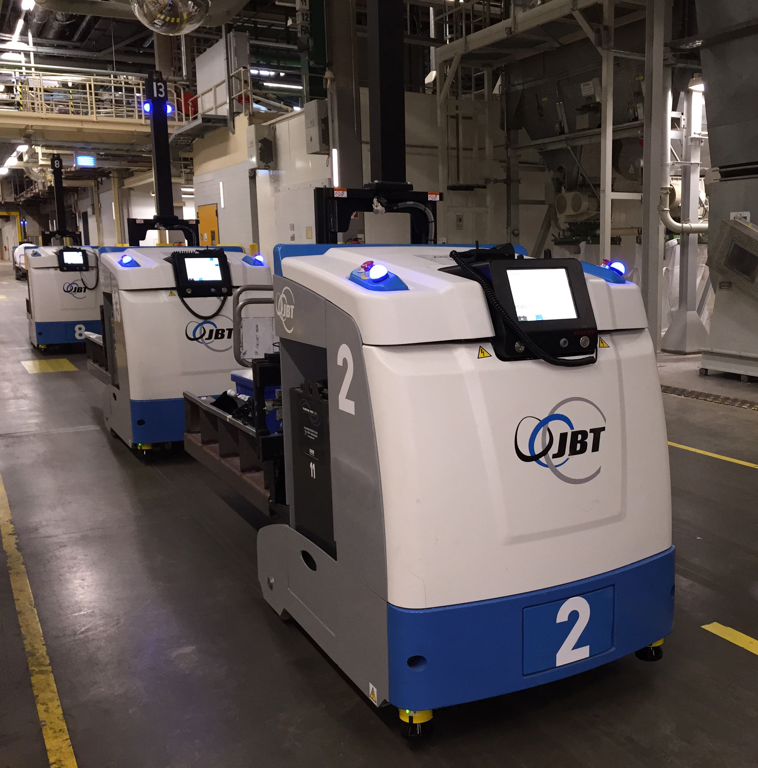 AGVs proliferate as warehouse automation grows in beverage