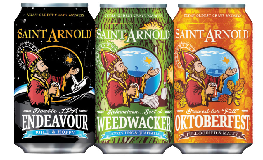 Saint Arnold Brewing Co. Cans