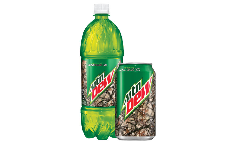 DEW camo can