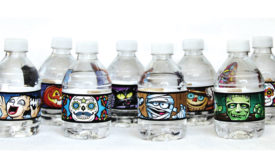 Nestle Halloween Bottles