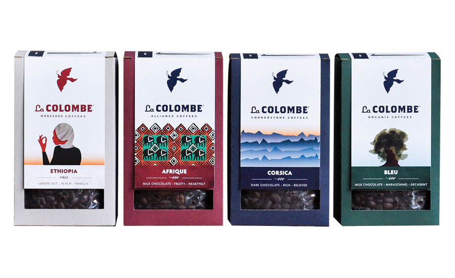La Colombe coffees