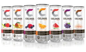 Celsius drink can