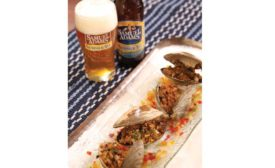 beer baked clams