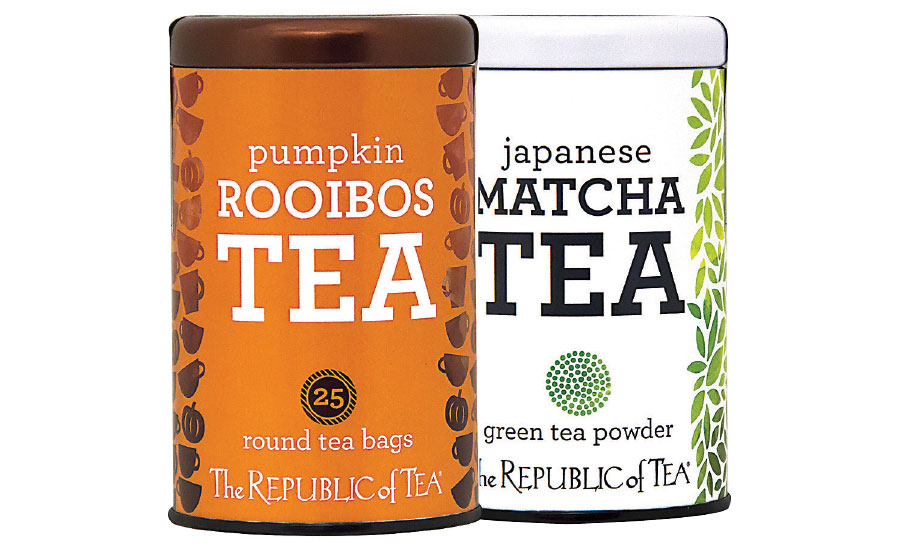 Pumpkin matcha tea