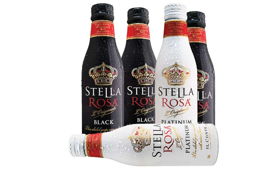 Stella Rose aluminum bottle