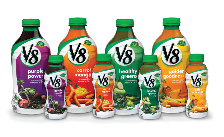 V8 vegetable fruit drink
