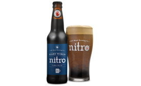 Hard-wired Nitro bottle and glass