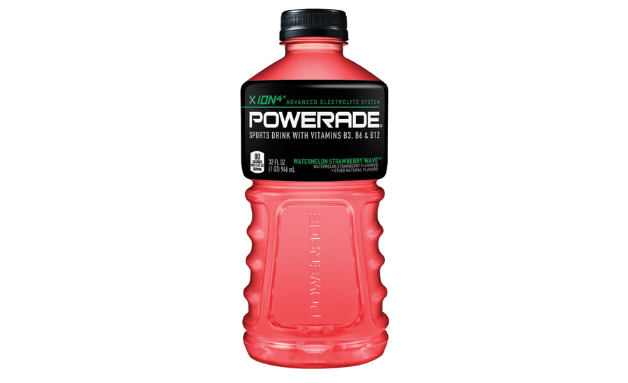 Powerade twisted strawberry