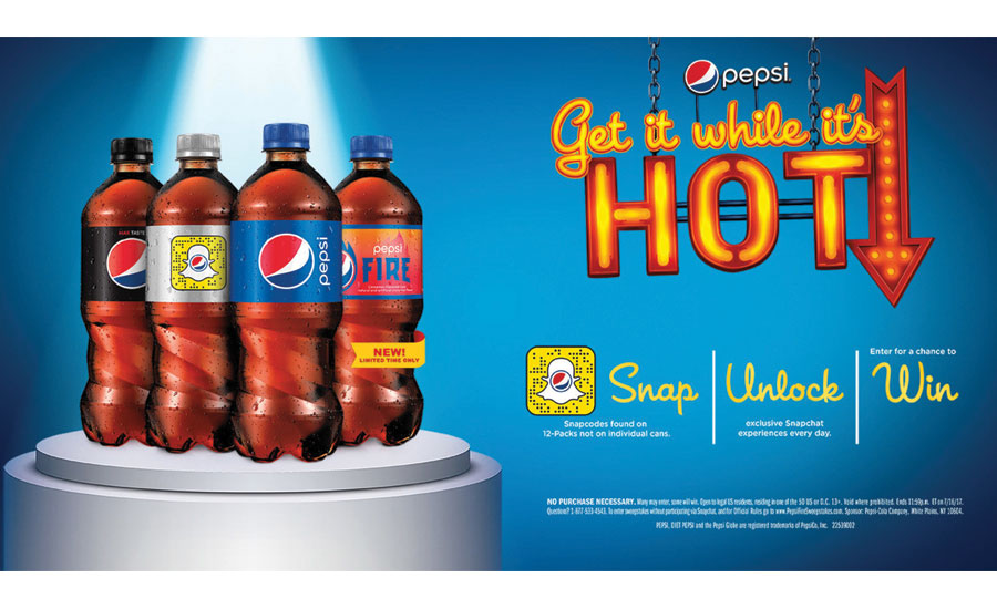 Pepsi Fire, Get it while it's hot