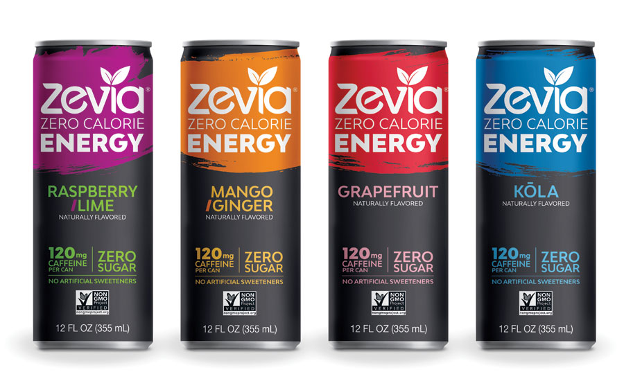 Zevia Energy bottle