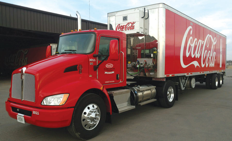 Kenworth T370 - Beverage Industry