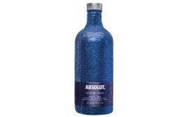 Absolut Vodka Sequin Bottle Beverage Industry