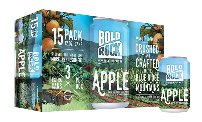 Bold Rock Hard Apple Cider Beverage Industry