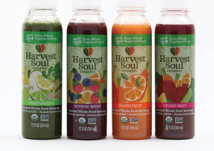 Harvest Soul Organic Bottles Beverage Industry