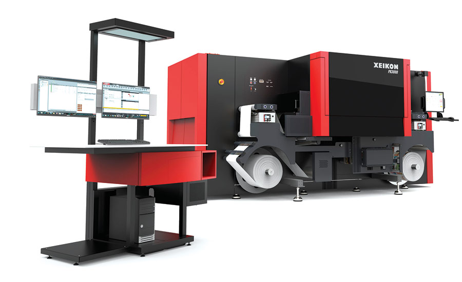 Xeikon PX3000 Beverage Industry