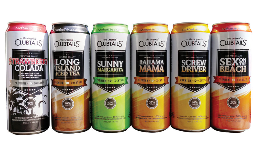 Geloso Beverage Group's Clubtails new 24-ounce cans