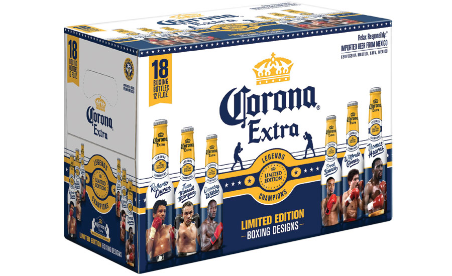 "Corona Extra 2017 limited-edition ""Legends"" bottles."