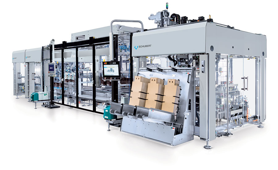 Gerhard Schubert GmbH and KHS Innopack-TLM block packaging system