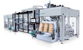 Gerhard Schubert GmbH and KHS Innopack-TLM block packaging system