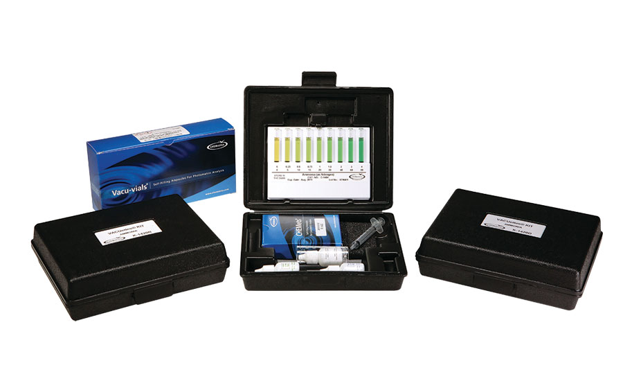 ammonia water analysis kits CHEMetrics