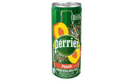Perrier Peach - Beverage Industry