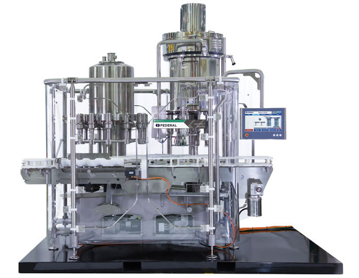 ProMach Federal XACT-Fil filling machine - Beverage Industry