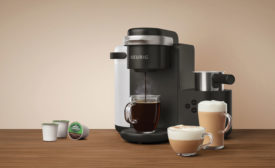Keurig Green Mountain announced the release of a new K-Café Single Serve Coffee, Latte & Cappuccino Maker. - Beverage Industry
