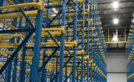 Steel King Industries Inc.'s cost-effective, durable storage systems. - Beverage Industry