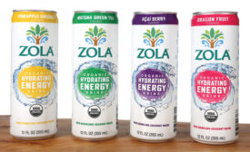 Zola New Energy Line - Beverage Industry