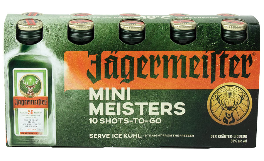 Mini Meisters 10 shots-to-go from Mast-Jägermeister US - Beverage Industry
