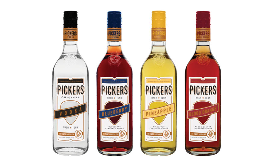 Picker's vodka announces packaging redesign
