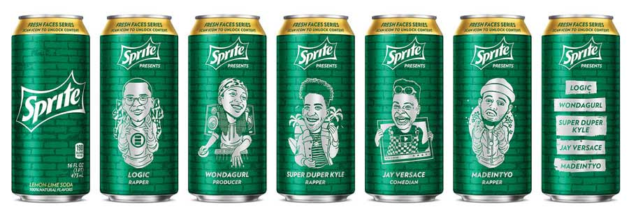 Sprite Hip-Hop series cans. - Beverage Industry