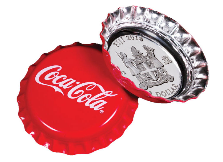 GovMint.com, ModernCointMart and S&A Partners introduced collector-edition, legal-tender silver dollars that look like Coca-Cola bottle caps - Beverage Industry