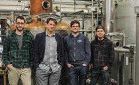 Few Spirits - Beverage Industry: Pictured left to right: Sam Bielawski, Paul Hletko, Steven Kaplan and Skyler Retzlaff.