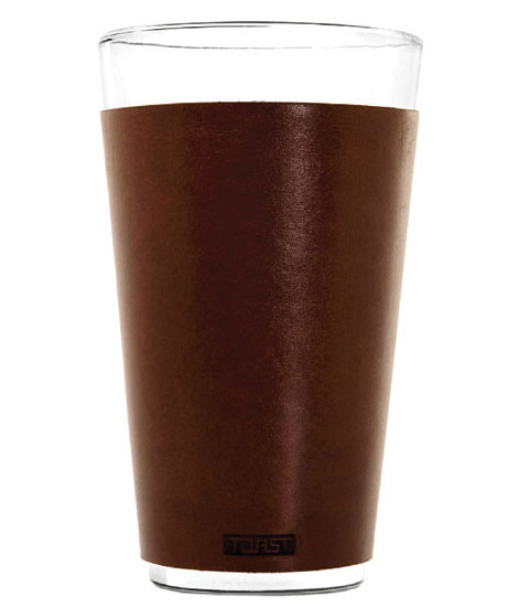 Toast introduced leather pint glass cuffs - Beverage Industry