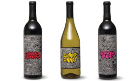 Aldi Reserve Wine with art by Timothy Goodman - Beverage Industry