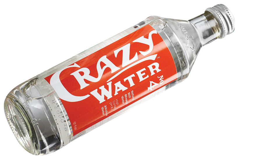 Crazy Water introduced a new glass bottle package for its Crazy Water and Crazy Fizz bottled waters - Beverage Industry