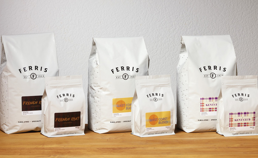 Ferris Coffee & Nut Co. introduced packaging for its portfolio of coffees - Beverage Industry