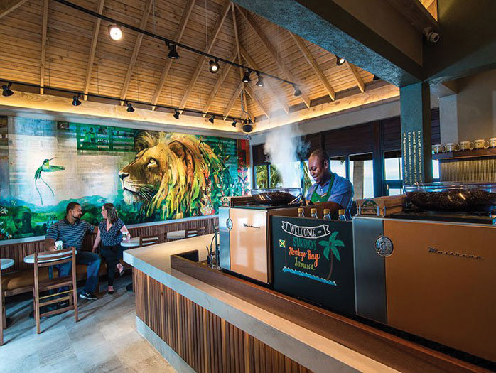 Starbucks made Jamaica its 76th international market with the opening of a new café at Doctor's Cave Beach in Montego Bay, Jamaica - Beverage Industry