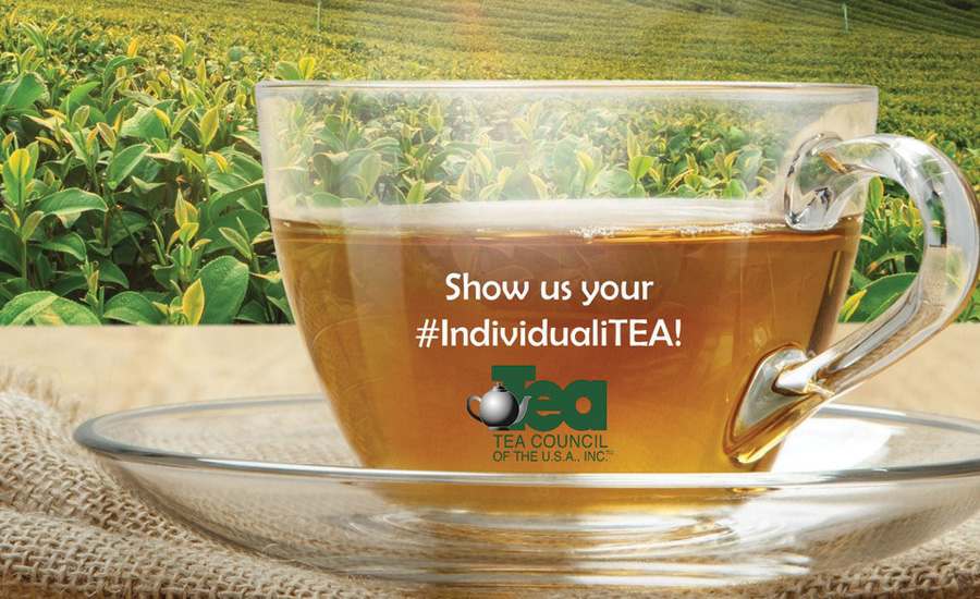 Last month, the Tea Council of the USA launched its second annual hashtag #IndividualiTEA Photo Sharing Sweepstakes - Beverage Industry